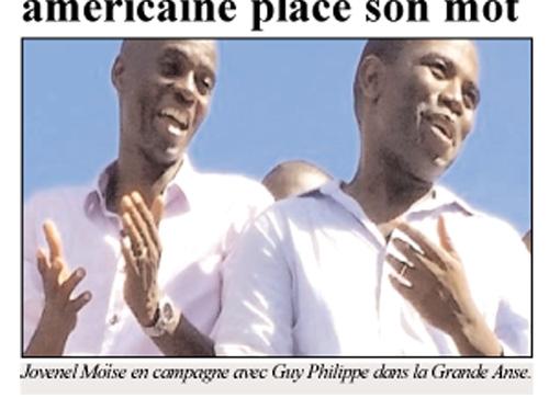 Guy Philippe & Jovenel